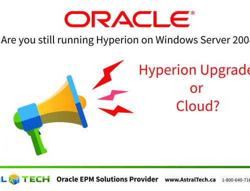 Are you still running Hyperion on Windows Server 2008?
