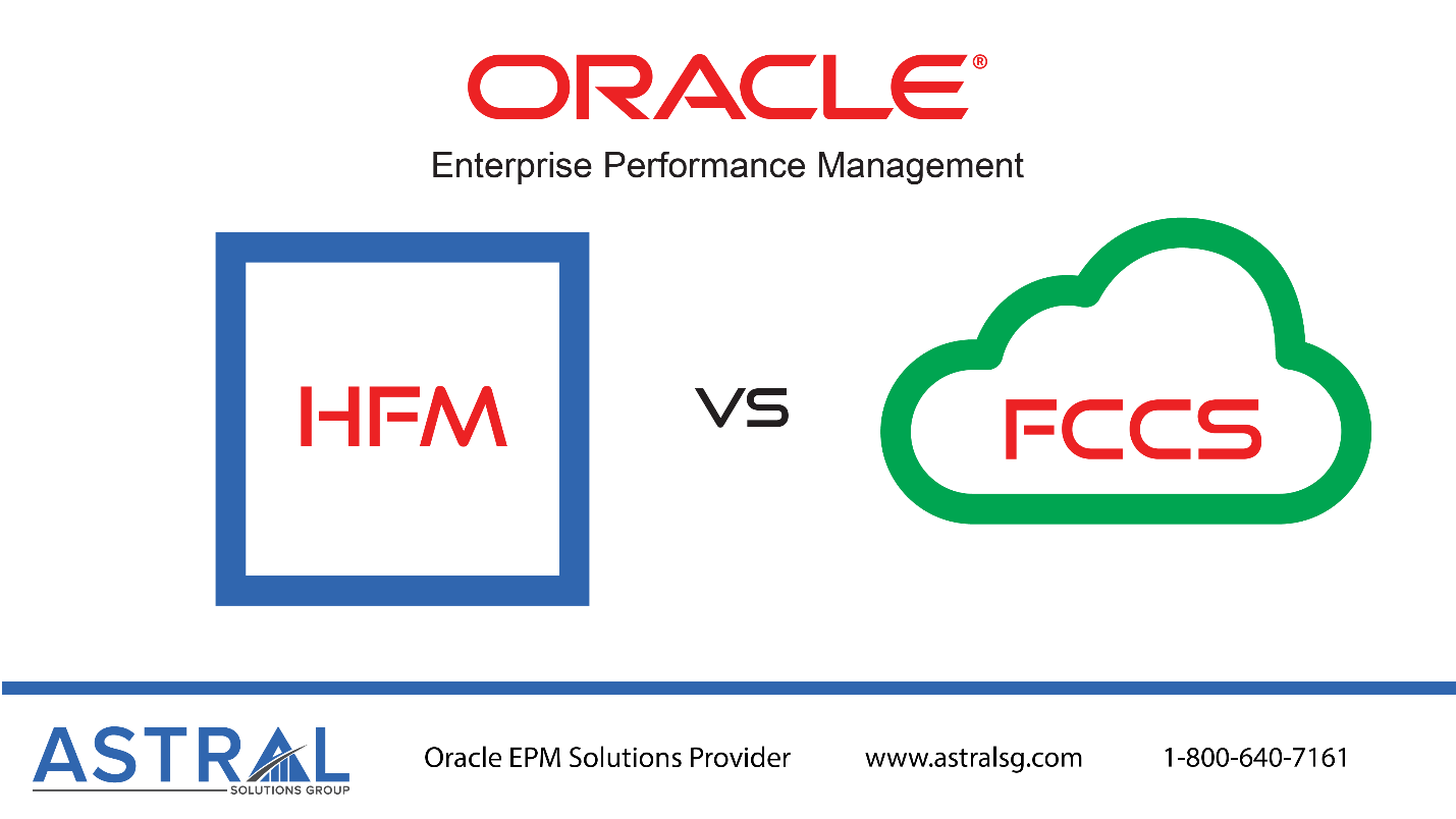 HFM - Hyperion Financial Management | FCCS - Financial Consolidation and Close Cloud Service