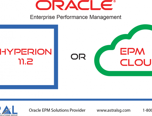 Upgrade to Hyperion 11.2 or migrate to Oracle EPM Cloud?